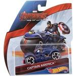 Moto Hot Wheels Avengers Age Of Ultron Capitão America - Mattel