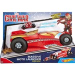 Moto Mega Lançador Marvel Homem de Ferro - Mattel