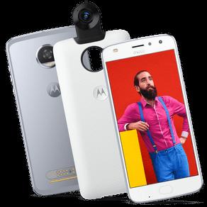 Moto Z2 Play 360 Camera Edition 64GB - Azul Topázio
