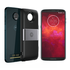 Moto Z3 Play - Power Pack & DTV Edition 64GB - Índigo