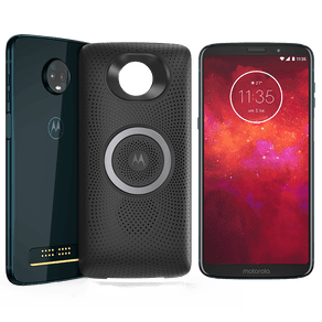 Moto Z3 Play - Sound Edition 64GB - Índigo