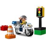 Motocicleta de Polícia - Lego