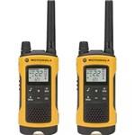 Motorola Radio Comunicador Walk Talk Motorola T400MC 22 Canais Impermeável- Amarelo