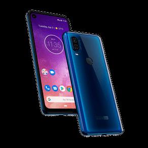 MotorolaOne Vision Azul Safira