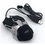 Mouse Gamer C/ Macro 3200 Dpi Luz de Led 5 Cores 7 Botões