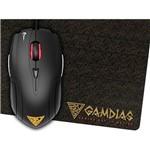Mouse Gamer Gamdias Ambidestro Demeter E1 3200 Dpi + Mouse Pad