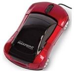 Mouse Maxprint Optico Usb Carrinho Vermelho 607187