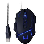 Mouse Multilaser MO261 Gamer USB - Preto