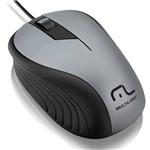 Mouse Optico 1200 Dpi Preto/grafite Usb Mo225 Multilaser