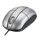 Mouse Óptico Steel Silver Piano Multilaser