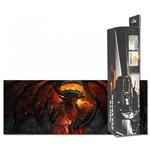Mouse Pad Gamer Exbom Extra Grande 80cmx30cmx3mm Dragão