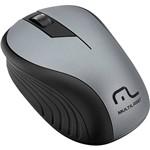 Mouse Sem Fio Preto Grafite USB - Multilaser