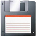 Mousepad Decor Colorfun Disquete Reliza