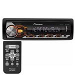 MP3 Player Automotivo Pioneer MVH-X288FD 1 Din USB Lê Android AUX RCA AM FM Mixtrax RMS 4x40W