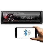 Mp3 Player Pioneer Mvhs218bt 1 Din Bluetooth Usb Media Receiver Interface Smartphone Android Digital