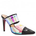 Mule Zariff Shoes Salto Alto Vinil 970252 | Betisa