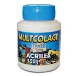 Multcolage Têxtil 120g Acrilex