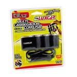 Multi Carregador Veicular Luxcar 3719 com USB 12v/24v
