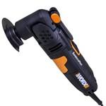 Multiferramenta Oscilante Sonicrafter Worx 250w 220v- 19 Peças