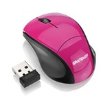Multilaser Mini Mouse Sem Fio Wireless 2.4ghz Rosa Mo151