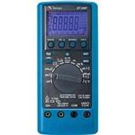 Multímetrotrue Rms Cat Iv Usb 4 5/6 Dígital Filtro Passa Baixa e Condutância Minipa Et-2587