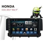 Multimídia Honda Civic Android 6.0 2017 2018 2019 Tv Full Hd