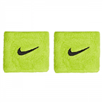 Munhequeira Swoosh Verde Curta com 02 Unidades - Nike NIM016