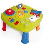 Music Table Mesinha Mesa Educativa Centro Atividade Infantil Bebê Calesita com Som