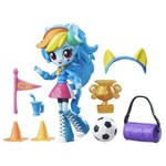 My Little Pony - Boneca Mini Equestria Girls - Rainbow Dash Torcida do Colégio B8025