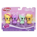 My Little Pony Kit C/ 4 Figuras Playskool Hasbro