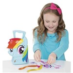 My Little Pony - Maleta Rainbow Dash Estilista - Multikids