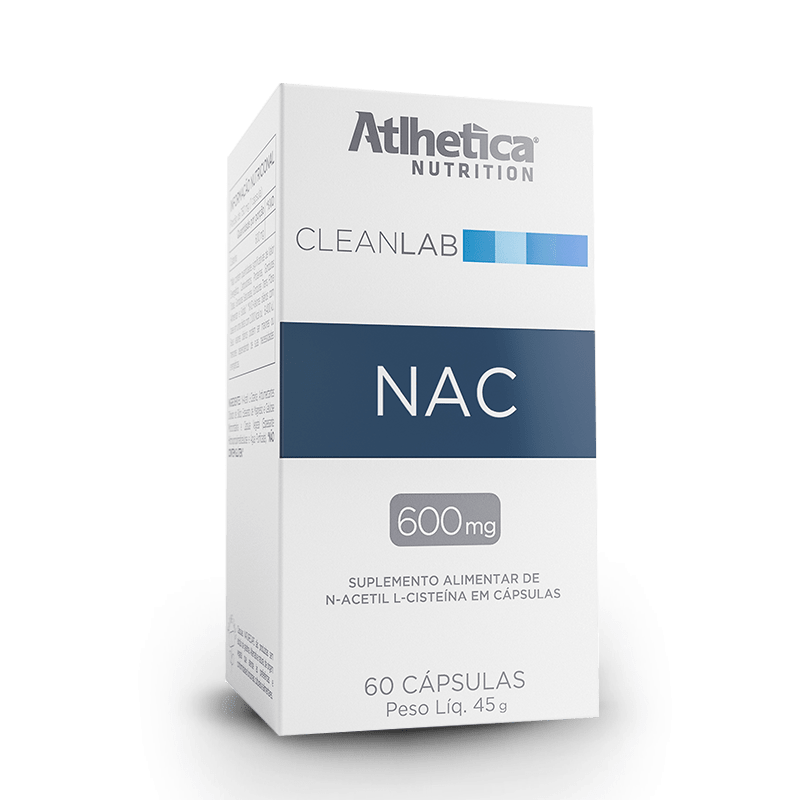 N-Acetyl L-Cysteine (60 Caps) - Atlhetica Nutrition
