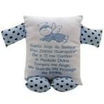 Naninha Baby Oração Santo Anjo Azul – Batistel