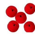 Nariz Palhaço Esponja Vermelho