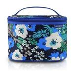 Necessaire Frasqueira Estampada Tam G Abc17200 Az F Jacki Design Azul / Floral Único