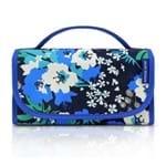 Necessaire Jacki Design Rocambole Estampada Abc17202-Az-F Azul/Floral T Un
