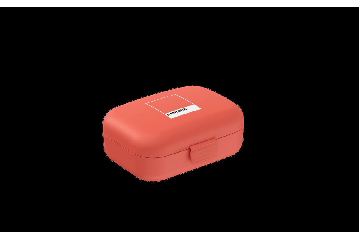Necessária Mini 10,8 X 8,2 X 4,4 Cm Coral Pantone Coza