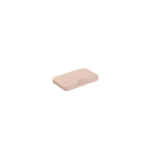 Necessária Slim 10,7 X 6,7 X 2 Cm Rosa Blush Coza