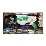 Nerf Lança Dardos Supreme Super Shot Lançador com Dardos DM Toys