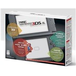 NEW NINTENDO 3DS XL PRETO e CARREGADOR ORIGINAL NINTENDO