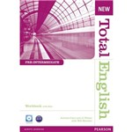 New Total English Pre Int Wb W/ Key Aud Cd Pack 1e