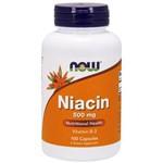 Niacina 500 Mg Now Foods 100 Cápsulas