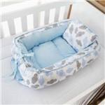 Ninho Redutor Bebê Menino Nuvem Azul Bebê 2 Peças