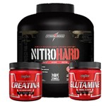Nitro Hard 2,3KG + Creatina + Glutamina