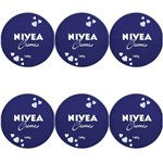Nivea Creme Facial Lata 145g (kit C/06)
