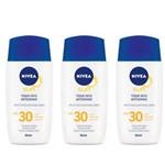 Nivea Fps30 Protetor Solar Facial 50ml (kit C/03)