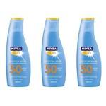 Nivea Sun Fps50 Protetor Solar 125ml (kit C/03)