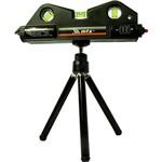 Nível a Laser, 170m com Tripé 150mm, 3 Bolhas - MTX