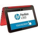 "Notebook 2 em 1 HP Pavilion X360 11-n225br Pentium Quad Core 4GB 500GB Tela LED 11,6"" Touch W10 - Vermelho"