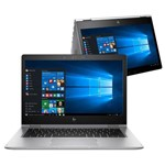 Notebook 2 em 1 Touch Hp Elitebook X360 1030 G2 Co